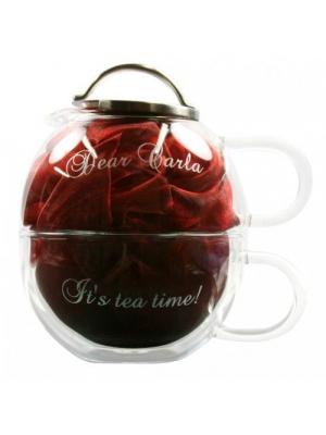 Tea for one gegraveerd als kado