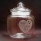Snoeppot Veneza gegraveerd voor 50 jarig huwelijk