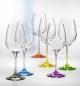Laat onze rainbow wijnglazen graveren