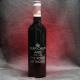 Fles rode wijn gegraveerd als verjaardagscadeau