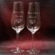 Taste champagneglas graveren als huwelijkscadeau