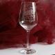 Taste witte wijnglas gegraveerd als vaderdagcadeau