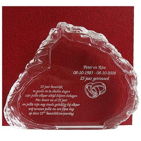 1 Huwelijksjubileum Cadeau 25 Gepersonaliseerde Cadeaus