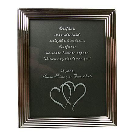 leuk kado voor 25 jarig huwelijk Huwelijksjubileum cadeau   25+ gepersonaliseerde jubileum cadeaus leuk kado voor 25 jarig huwelijk