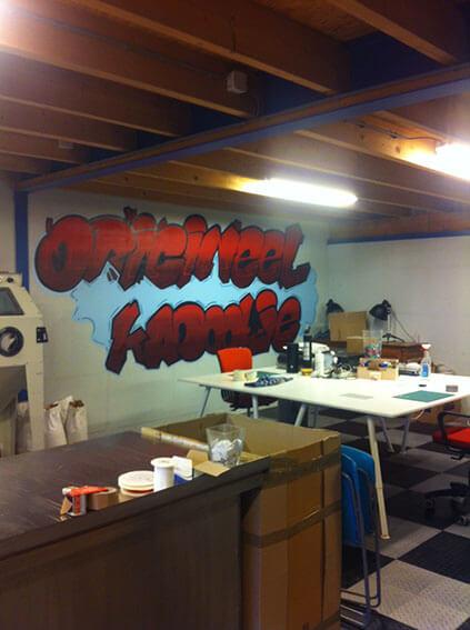 Onze graffiti